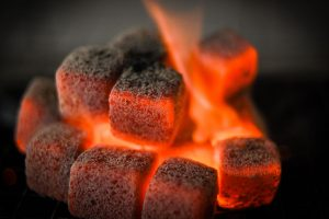 coconut-charcoal BRIQUETTE